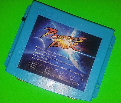 645 in 1 PCB Pandora's Box 4 HD multigame board JAMMA arcade - USA SELLER