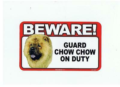 """Guard  """"chow Chow""""  On Duty"""