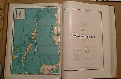 1945 War Edition Atlas of the World New International Geographical Publish