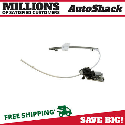 Auto Shack Front Passenger Right Power Window Regulator with Motor