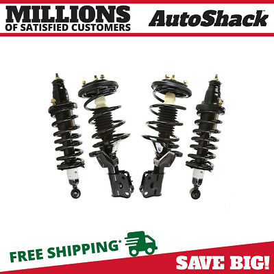 For 01-05 Honda Civic Quick Complete Struts /Shock & Coil Springs w/ Mounts x4