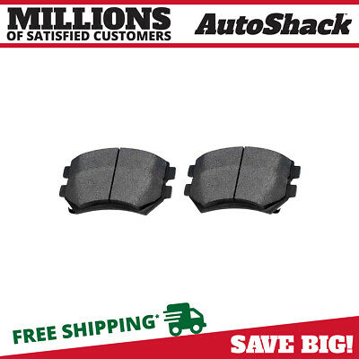 Complete Ceramic Front Brake Pads w/ Shims fits Chevy Buick Cadillac Pontiac