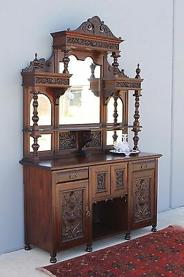 Stunning Large Victorian Sideboard.
