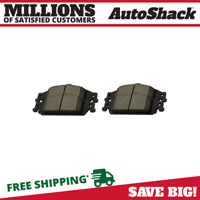 New Front Left and Right Ceramic Brake Pads fits Chevrolet Oldsmobile Pontiac