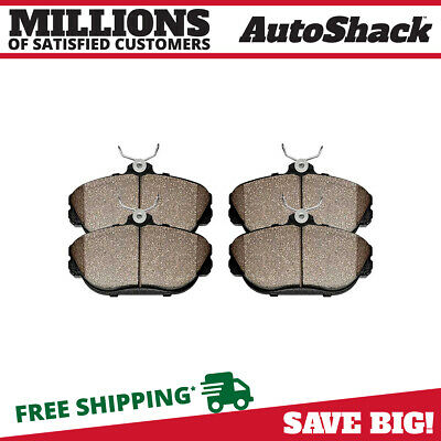 New Front Premium Set of Semi Metallic Disc Brake Pads fits Ford Lincoln Mercury