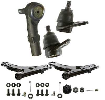 2 Lower Control Arms 2 Lower Ball Joints & One Right Outer Tie Rod fits VW