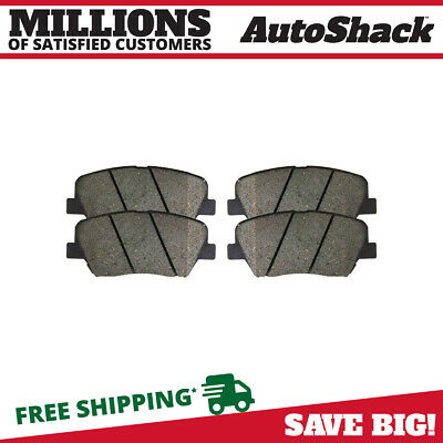 New Premium Complete Set Of Ceramic Disc Brake Pads With Shims
