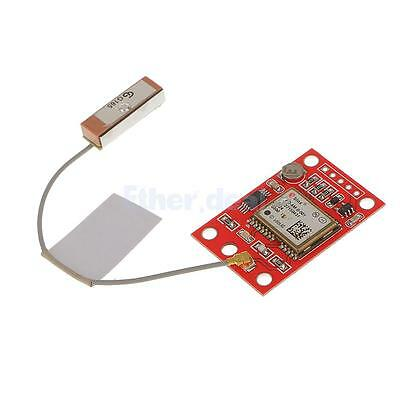 Red GY-NEO6MV2 GPS Module with Flight Control EEPROM for Arduino DIY