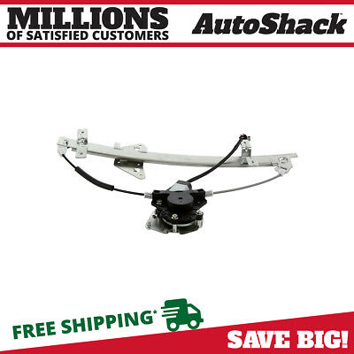 Auto Shack Rear Driver Left Power Window Regulator with Motor