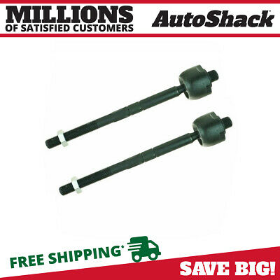 New Pair of Front Left and Right Inner Tie Rod Ends fits Mercedes-Benz