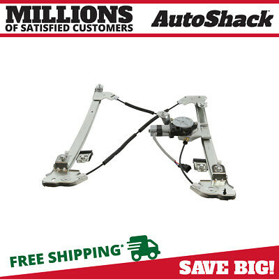 Auto Shack Front Driver Left Power Window Regulator with Motor