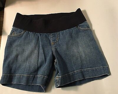 Women's Liz Lange Maternity Shorts Size Small Denim