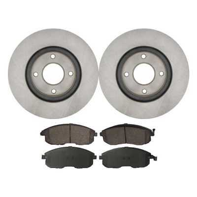 Brake Rotors & Performance Pads for Nissan Cube Sentra Versa w/Lifetime Warranty