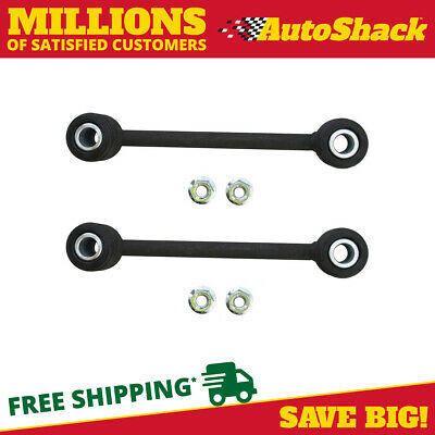 Pair of Rear Sway Bar Link Kit fits Dodge Dakota Jeep Wrangler Mitsubishi Raider