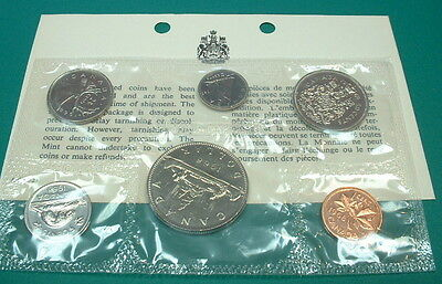 Canada  1968    Proof-Like Set  ***6 Coins***