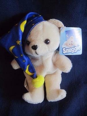 Vintage-Snuggle-Bear-Plush-Lever-Russ-Fabric-Softener-Stuffed-W-Tag