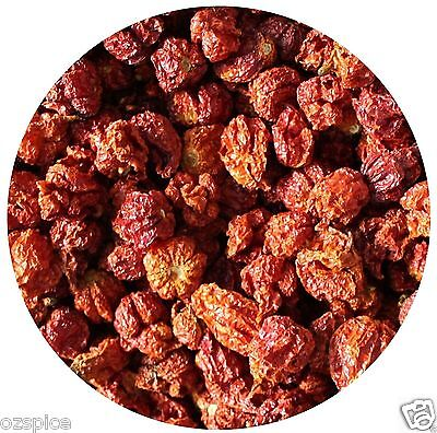 CAROLINA REAPER (WHOLE DRY) 10g WORLD'S HOTTEST CHILLI  EXTREMELY HOT ozSpice