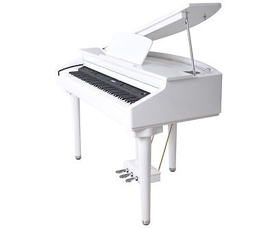 Artesia White Digital Baby Grand Piano. Free Shipping Australia Wide