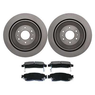 Rotors & Performance Pads For 02-09 Buick Chev GMC Olds Saab w/Lifetime Warranty