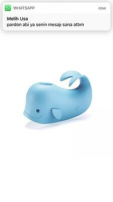 Skip Hop Bath Spout Cover, Moby, New, Free Shipping