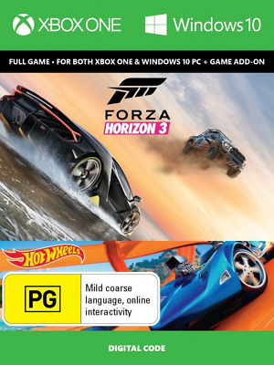 Forza Horizon 3 + Hot Wheels ADD Xbox One / PC DOWNLOAD CODE *READ DESCRIPTION*