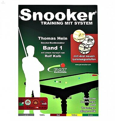Thomas Hein - Snooker, Training mit System -  Band 1, PAT, deutsch