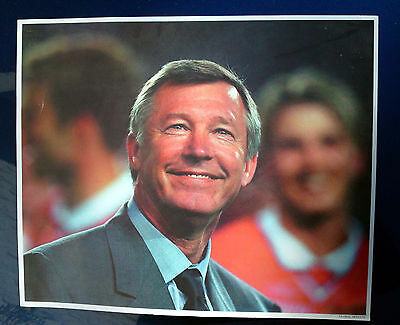 30 Prints Alex Ferguson Football Manchester United Licenced 12x9in Wholesale Job