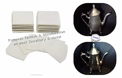 Polishing Cloth Pads For Really Dirty Silver & Jewellery Jewelry Tarnish Remover