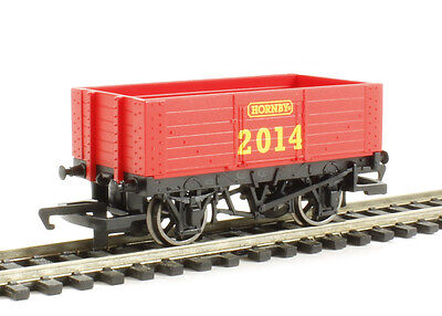 R6673 Hornby 2014 - 7 Plank Open Wagon OO Gauge Model Railway Brand New & Boxed
