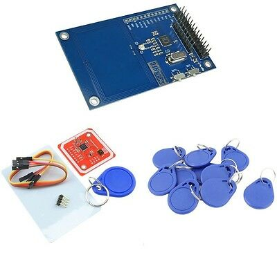 PN532 NFC RFID Reader/Writer Controller Shield KITS For Arduino PN532 Red/Blue M