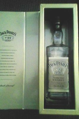 jack daniels no27 gold bottle in box 700ml (empty)