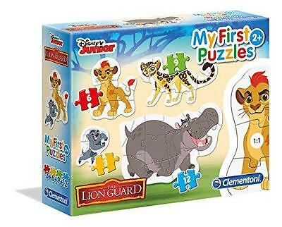 New Clementoni Disney The Lion Guard My First Puzzles 4 Pack