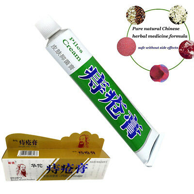 Huatuo Powerful Musk Hemorrhoids Ointment Cream Traditional Chinese Medicine