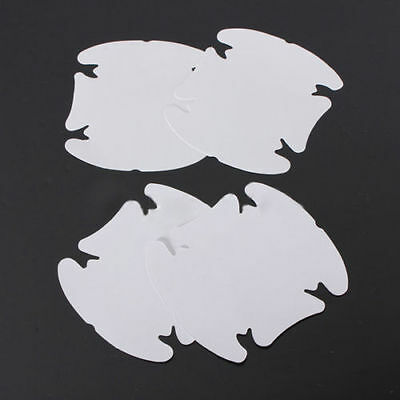 Car Door Handle Protectors Prevent Scratches & Paint Damage - Clear Stickers x 4