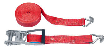 Wurth SINGLE Tie Down Ratchet Cargo Strap 4 TON / 9.5 Meters / 50mm Width Lorry