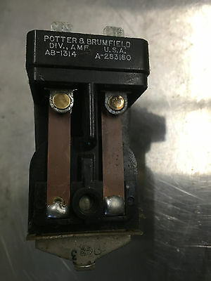 Kohler Relay 23180 Magnetic Contactor AMF Potter & Brumfield AB-1314