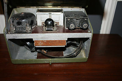 Early Ww2 Military Field Telephone & Morse Tele Set D Mk V Wwi British