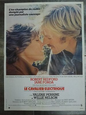 LE CAVALIER ELECTRiQUE Redford Fonda 1979 Affiche Originale 40x55 Movie Poster