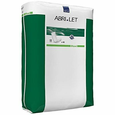 Abena 4035 Abri-Let Booster Pads, Maxi Absorbency, Case/120 (3 bags of 40)