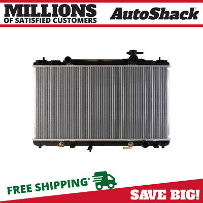 New Direct Fit Complete Aluminum Radiator fits 02-06 Toyota Camry Solara 2.4L