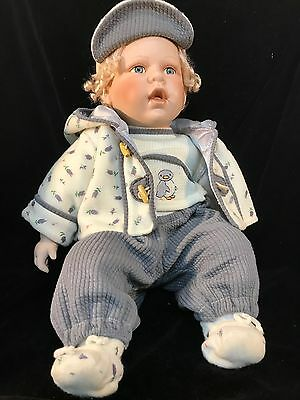 "CATHAY COLLECTION 22"" PORCELAIN DOLL Penguin  BABY BOY LIMITED EDITION"
