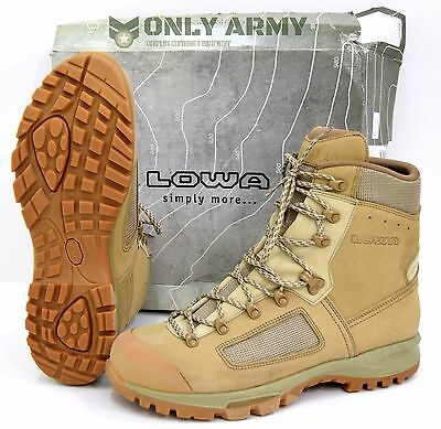 NEW British Army Lowa Elite Desert Boots Combat Walking Hiking Boots Comfortable