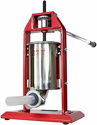 Meat Grinders New VIVO Sausage Stuffer Vertical Stainless Steel 3L7LB 5-7 Pound