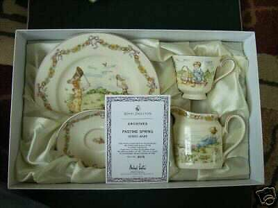 Clearance Pastime Spring Doulton Archives 1901 Pattern S/n 015 Jug/cup/plater