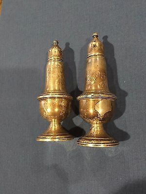 Empire Sterling Weighted Salt And Pepper Shakers
