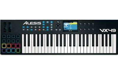 Alesis VX49 Keyboard - 49-Key MIDI Keyboard & VIP Software Controller