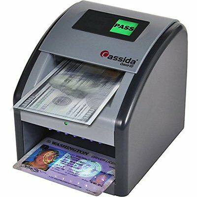 Counterfeit Bill Detectors Cassida Automatic Counterfeit Detector with Uv