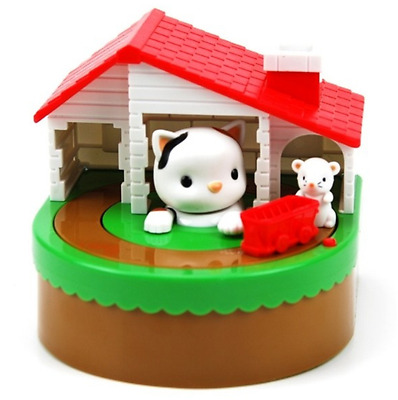 New Coin Bank 1Piece Sutakora Coin Bank Cat and Mouse Moving Money Box