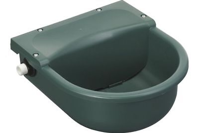 Automatic Water Feeder/Drinker 3 Litre Plastic Bowl - Horse/Pony Stable/Yard