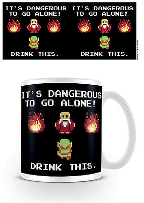 OFFICIAL The Legend Of Zelda (Drink This) MUG BY PYRAMID MG24488